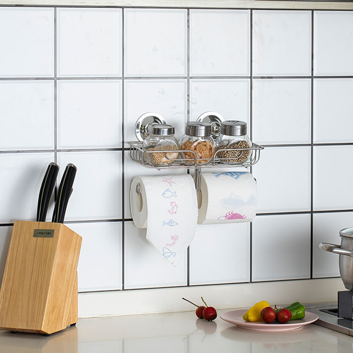 Multifunctional Chrome Plated Stainless Steel Rack